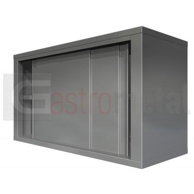 Dulap de perete inox cu usi glisante 1100x400